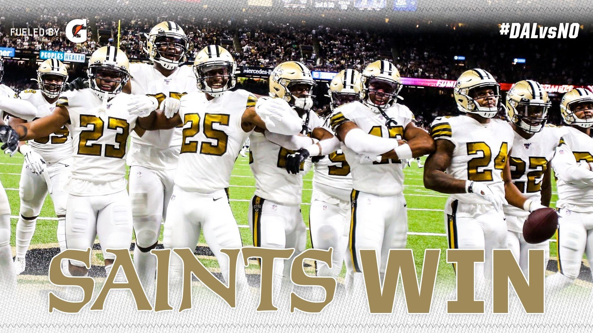 2 Weeks 2 Wins As Saints Continue To Best Top Nfc Teams In